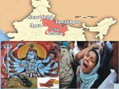 ایک ہندو نے اپنے آٹھ ماہ کے کمسن بیٹے کو کالی ماتا کے قدموں میں قربان کر دیا