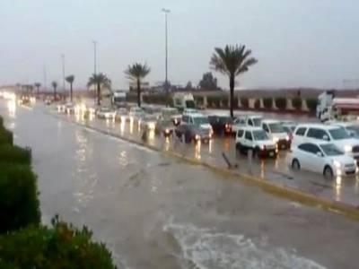 سعودی عرب میں بارشوں سے ہلاکتوں کی تعداد15ہوگئی ، سات افراد لاپتہ
