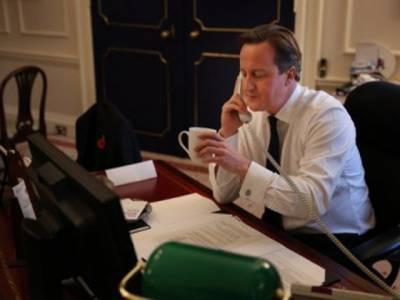 ڈیوڈکیمرون کا حسن روحانی کو ٹیلی فون ، ایٹمی پروگرام پر تبادلہ خیال