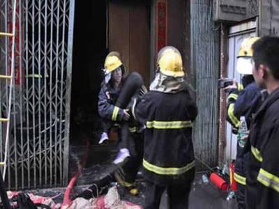 چین کے گودام میں آگ بھڑک اٹھی ، 11 افراد ہلاک