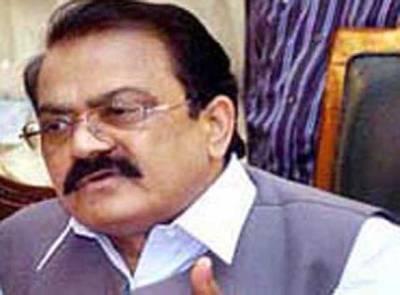 پنجاب میں شیڈول کے مطابق بلدیاتی انتخابات کیلئے تیار ہیں: رانا ثناءاللہ