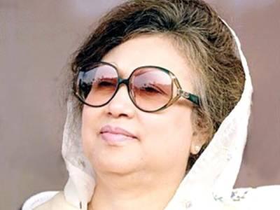 بنگلہ دیش کی اپوزیشن پارٹی کی رہنماءکا عام انتخابات کے خلاف عوامی مارچ کا اعلان