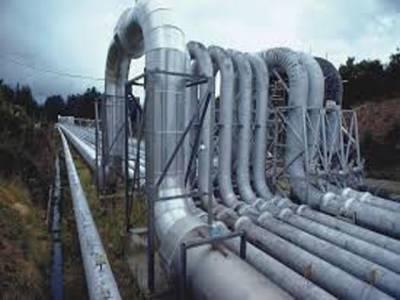 لوٹی گیس فیلڈ کے 10 انچ قطر کی پائپ لائن دھماکے سے تباہ