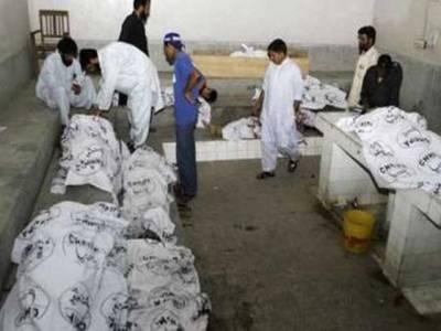 کراچی کے علاقے پاک کالونی کے قریب سے عزیربلوچ کے برادرنسبتی سمیت چھ افراد کی لاشیں برآمد، واقعہ بابالاڈلہ گروپ سے دشمنی کا نتیجہ ہے : پولیس