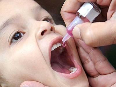 پانچ بچوں میں پولیو وائرس کی تصدیق