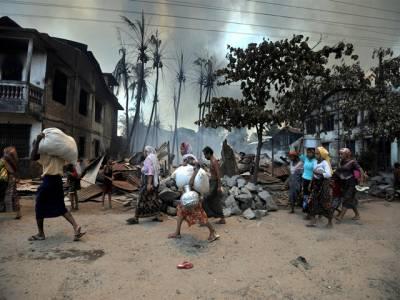 میانمار میں مسلمانوں کیلئے جینا دوبھر ہوگیا، بودھو ں نے مزید درجنوں افراد ماردیئے