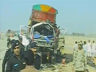 جعفرآباد میں بائی پاس روڈ پر دھماکہ ، تین افراد جاں بحق