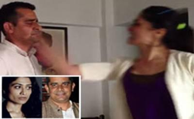 ہراساں کرنے کا الزام: اداکارہ گیتیکا تیاگی نے سبھاش کپور کو تھپڑ مار دیا