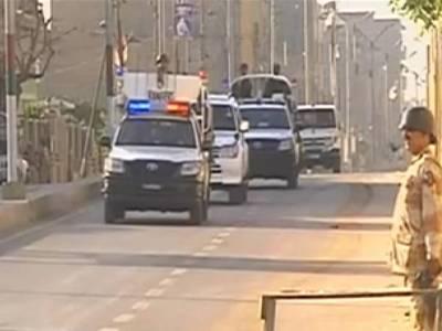 کراچی کے علاقے ماڑی پور میں حسا س اداروں کی کارروائی ، بارودسے بھری گاڑی برآمد، تین ملزم گرفتار