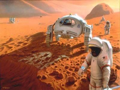 """علماءنے """"مریخ"""" پر جانے کو حرام قرار دیدیا"""