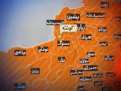 کوئٹہ چمن شاہرہ پر ٹریفک حادثہ ، 8افرادجاں بحق