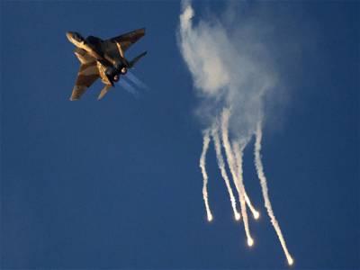 اسرائیل کا شام پر فضائی حملہ ، فوج کا ہیڈکوارٹر اور ٹریننگ کیمپ نشانہ بنے : فوج کا دعویٰ