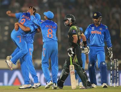 ٹی 20 ورلڈ کپ: بھارت نے پاکستان کو 7 وکٹوں سے شکست دے دی