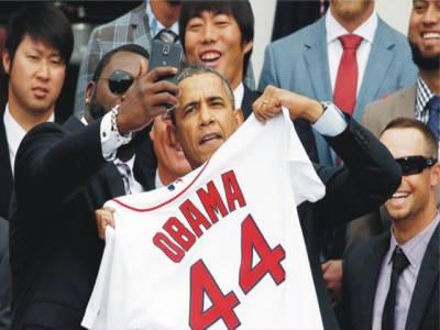 اوباما کی 'سیلفی' نے سام سنگ کو مشکل میں ڈال دیا