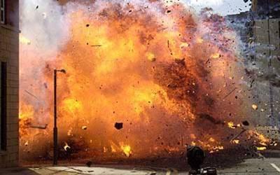 پشاورمیں گھر کے باہر دھماکہ،ایک شخص زخمی