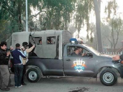 ایلیٹ فورس کی 25ٹیمیں پنجاب سے اسلام آباد پہنچ گئیں