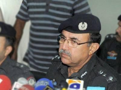 حامد میر حملہ کی تحقیقات کیلئے ڈیڑھ لاکھ سموں کا ڈیٹا چیک کرنا پڑا: آئی جی سندھ