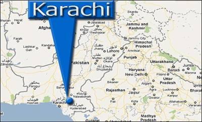 کراچی کی گارمنٹس فیکٹری میں آگ لگ گئی