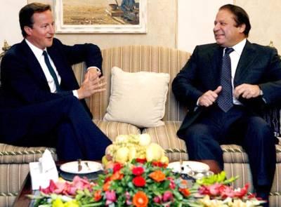 وزیراعظم نواز شریف کی برطانوی ہم منصب سے ملاقات، پاکستان کا دشمن ہمارا دشمن ہے: ڈیوڈ کیمرون