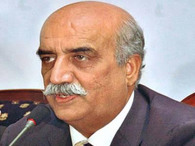 پاکستان کو شدید خطرات لاحق ہیں، جمہوریت ہو گی تو وطن ہو گا: خورشید شاہ