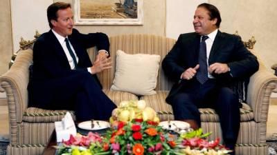 پاک برطانیہ تجارت 3ارب پاونڈ تک بڑھانے پراتفاق ،نوازشریف اورڈیوڈ کیمرون کی ملاقات کا اعلامیہ جاری