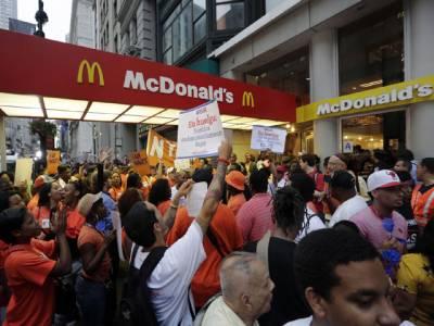 'برگر مالکان 'کے خلاف بین الاقوامی احتجاج