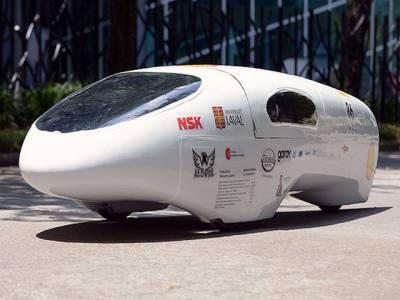 ایک لیٹر میں 1200کلومیٹر چلنے والی گاڑی