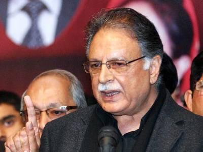 عمران خان کا جلسہ ناکام ہو گیا، لاہور سے صرف 550 افراد شریک ہوئے: پرویز رشید