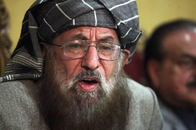طالبان کیخلاف عسکری طاقت کا استعمال معاملے کا حل نہیں ، سمیع الحق