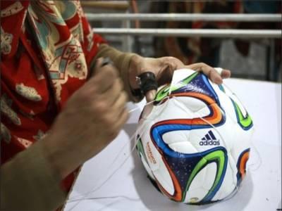فٹ بال ورلڈ کپ:برازیل میں پاکستانی فٹ بال استعمال ہوں گے