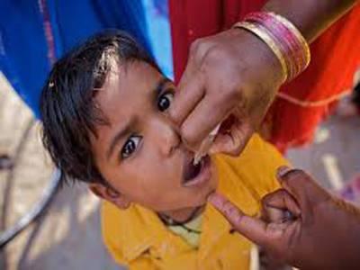 تین روزہ پولیو مہم ، 42 ہزار بچے قطرے پینے سے محروم رہ گئے