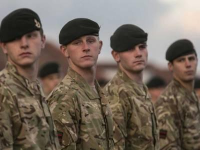 برطانیہ کی 'بچہ' فوج