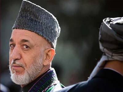 حامد کرزئی کا پاک افغان سیکیورٹی مذاکرات کے بائیکاٹ کا اعلان
