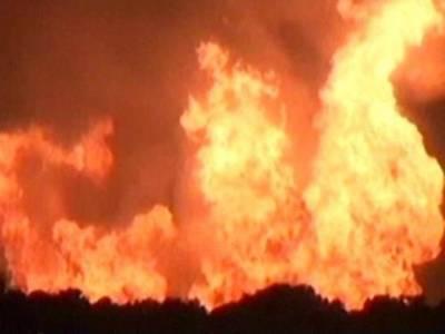 بونیر :نامعلوم افراد نے فائرنگ کے بعد گھر کو آگ لگا دی،4افراد جھلس کر جاں بحق