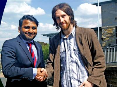 برطانیہ میں مسلمان کا شاندار کارنامہ