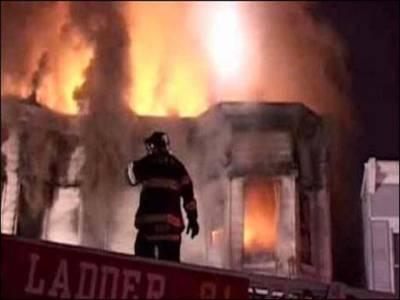 امریکا:سٹیٹن آئی لینڈ میں گھروں میں آتشزدگی،34 افراد زخمی
