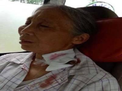 بہادر چینی خاتون موت سے لڑ پڑی