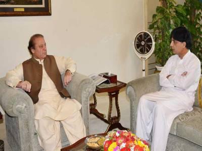 وزیر اعظم اور وزیر داخلہ میں اختلافات شدت اختیار کرگئے،چوہدری نثارکی مستعفی ہونے کی دھمکی