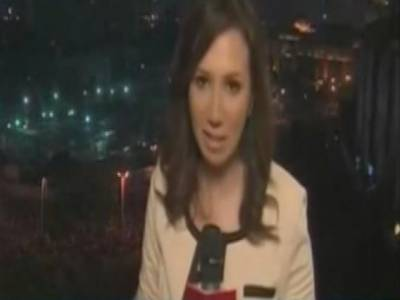 التحریرچوک میں خواتین سے جنسی زیادتیوں پر ہتک آمیز تبصرہ خاتون ٹی وی میزبان کو مہنگاپڑگیا