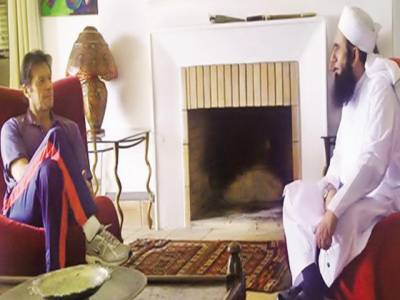 مولانا طارق جمیل کی عمران خان سے ملاقات، حج کی دعوت