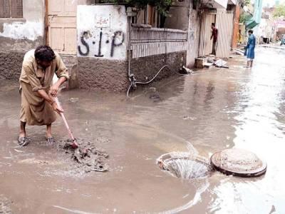 راول پنڈی ،اسلام آباد میں موسلا دھار بارش، نشیبی علاقے زیر آب آگئے
