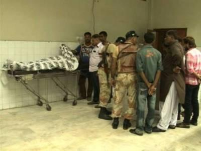 کراچی :ڈکیتی میں مزاحمت پر حساس ادارے کا اعلی افسر قتل