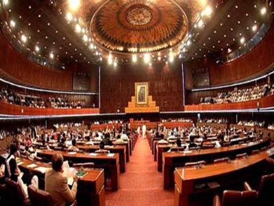 قومی اسمبلی کا اجلاس پیرسے شروع ہوگا، اسلام آباد میں فوج کی طلبی پر بحث کا امکان