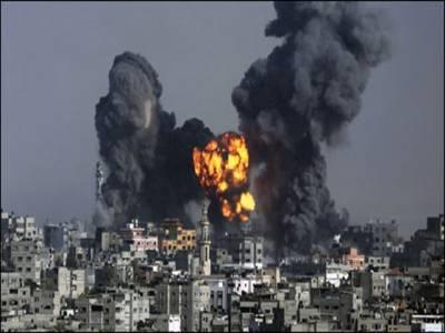 غزہ : اسرائیل کا نیا فضائی حملہ، 11 فلسطینی شہید