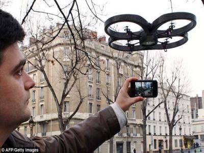 آئی فون سے کنٹرول ہونے والا منی ڈرون متعارف