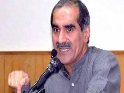 خواجہ سعدرفیق نے عمران خان کومقابلے میں الیکشن لڑنے کیلئے چیلنج کردیا