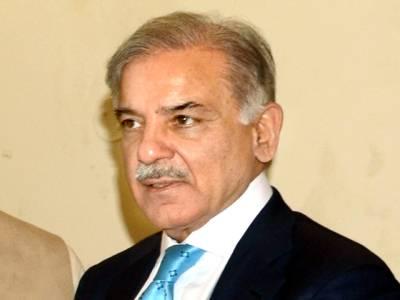 منتخب وزیراعظم سے استعفے کا مطالبہ غیر آئینی، غیر قانونی ہے: شہباز شریف