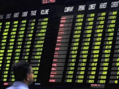 کراچی سٹاک مارکیٹ ،ٹریڈنگ کے دوران300پوائنٹس کا اضافہ