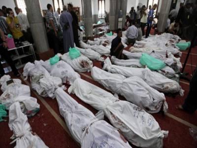 مصر میں معزول صدر مرسی کے حامیوں کا منصوبہ کیساتھ قتل عام کیاگیا: ہیومن رائیٹس واچ