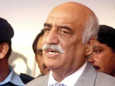 حکومت کو پاکستان کا آئین اور پارلیمینٹ کو بچانا چاہئے: خورشید شاہ